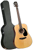 Bristol BD-116 Dreadnaught Acoustic Guitar and Hardshell Case