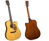 BLUERIDGE HISTORIC SERIES CUTAWAY ACOUSTIC-ELECTRIC DREADNAUGHT ACOUSTIC GUITAR - BR-140CE