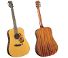 BLUERIDGE HISTORIC SERIES DREADNAUGHT GUITAR BR-140