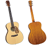 BLUERIDGE HISTORIC CRAFTSMAN SERIES 14-FRET 000 GUITAR - BR-143A