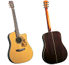 BLUERIDGE HISTORIC SERIES DREADNAUGHT CUTAWAY ACOUSTIC/ELECTRIC GUITAR - BR-160CE