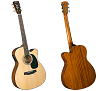 BLUERIDGE CONTEMPORARY SERIES CUTAWAY ACOUSTIC/ELECTRIC OOO GUITAR- BR-43CE