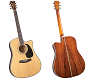 BLUERIDGE CONTEMPORARY SERIES DREADNAUGHT ACOUSTIC GUITAR-BR-70CE