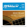 D'Addario 80/20 Bronze EJ11 Light 12-53