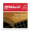 D'Addario 80/20 Bronze EJ12 Medium 13-56