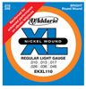 D'Addario EKXL110 Regular Light Tremolo 10-46