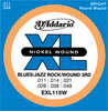 D'Addario EXL115W Blues/Jazz Rock Wound 3rd 11-49