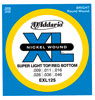 D'Addario EXL125 Super Light Top/Regular Bottom 9-46