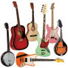 Indiana Guitars, Mandolins, Banjos & Indy Custom  Electric's
