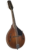 KENTUCKY STANDARD A-MODEL MANDOLIN- TRANSPARENT BROWN- KM-156