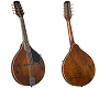 KENTUCKY ARTIST A-MODEL MANDOLIN -TRANSPARENT BROWN- KM-256