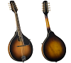KENTUCKY KM-270 ARTIST OVAL HOLE A-STYLE MANDOLIN-SUNBURST