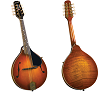 KENTUCKY DELUXE ARTIST A-MODEL MANDOLIN - KM-505