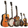 Morgan Monroe Guitars, Banjos, Mandolins 