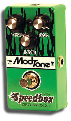 ModTone pedal Speedbox Distortion XL Effects Pedal