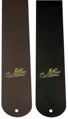 Morgan Monroe Deluxe Leather Guitar Strap